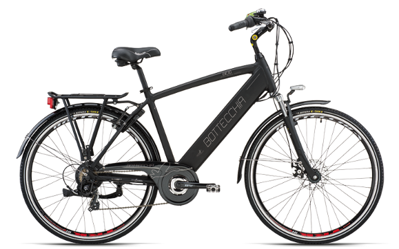 "BOTTECCHIA BE16 E-BIKE TRK MAN 28"" TX55 7S INTEGRATED BATTERY"