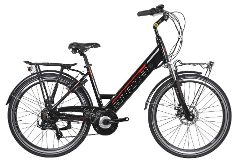 "BOTTECCHIA BE 15 E-BIKE TRK LADY 26"" TX55 7S INTEGRATED BATTERY"