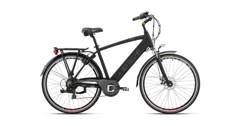 "BOTTECCHIA BE 16  E-BIKE TRK MAN 28"" TX55 7S INTEGRATED BATTERY"